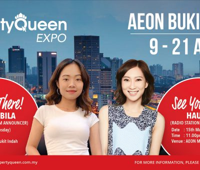 Property Expo duration for as long as TWO weeks?! Only by Property Queen!