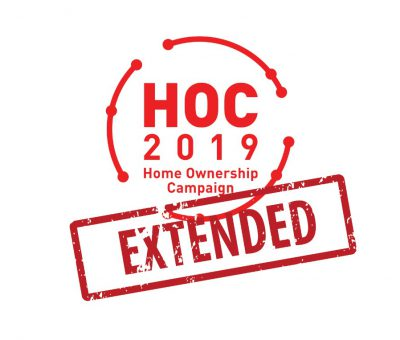 EXTENSION ON HOC CAMPAIGN 2019, BENEFICIAL TO HOME BUYERS & DEVELOPERS