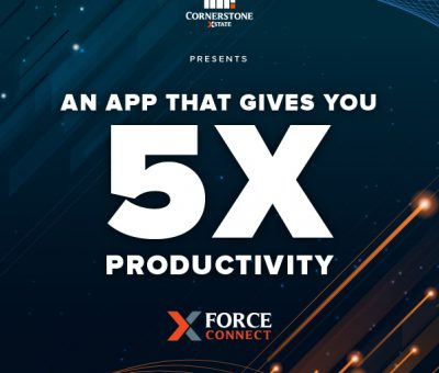 Bringing digital revolution to the touch of your fingertips – XForce Connect by Cornerstone Xstate