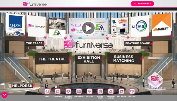 MIFF Furniverse 2021_Southeast Asia's Largest Furniture Trade Show is Online