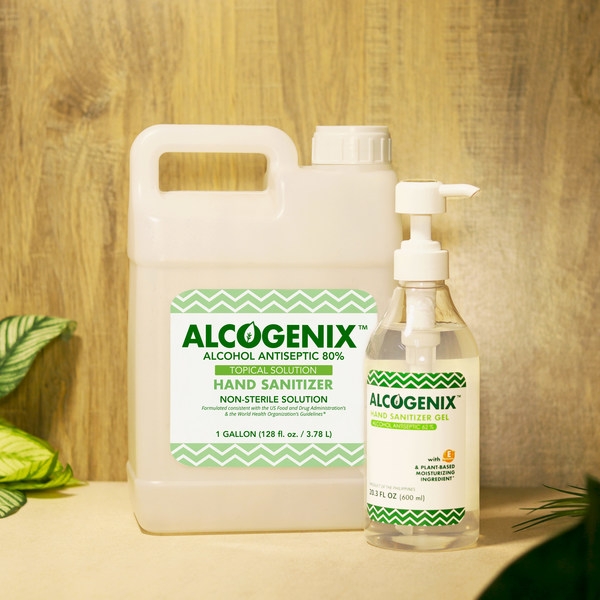 Alcogenix is expected to help augment the supply of disinfectant alcohol in the US as demand for the product rises due to the pandemic.