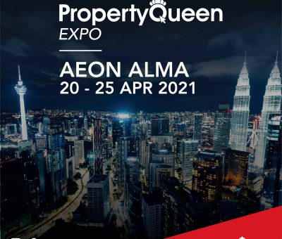 It's today! Come join us at the Property Queen Expo, AEON Mall Alma, Bukit Mertajam!