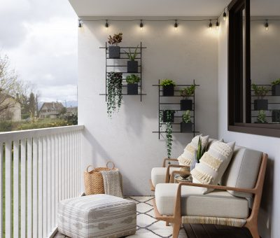 What can you do with your balcony